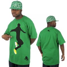 Vlado Footwear Hip Hop Tees grün Vlado... - My-Ema - Style-Finder Shop