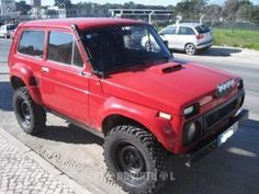 loved our wee LADA Niva