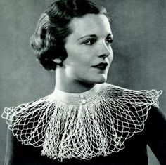 Mesh Net Collar Pattern | Crochet Patterns