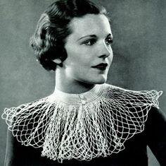 Mesh Net Collar Pattern | Crochet Patterns