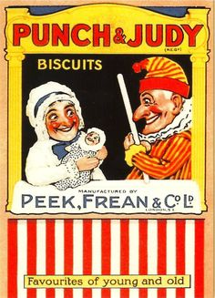 Punch and Judy sell out for biscuits