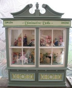 a Victorian Toy Shop Window