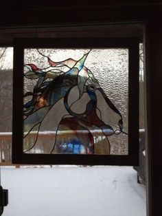 Stained-Glass-Horse-One-Of-A-Kind