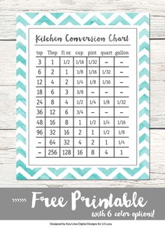 FREE Kitchen Convers