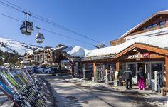 entrée du skiset @hotel new solarium courchevel