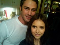 Nina Dobrev and Taylor Kinney