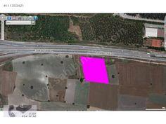 Emlak / Arsa / Satılık  Görükle'de Üniversite Karşısı Asfalta cephe 10 Dönüm Satılık Arazi