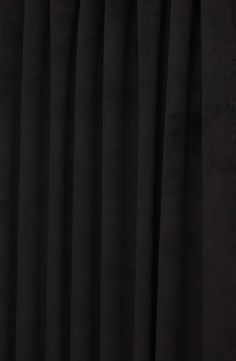 Hilton Velvet Black Made to Measure Curtains, from £137 per pair or £22 per metre.
