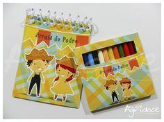 Kit de colorir - Festa Junina