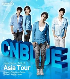 CNBlue Asia Tour