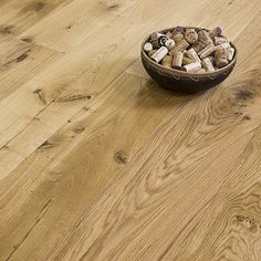Abbey Fearn 125mm Oak Brushed UV Oiled Solid Wooden Flooring