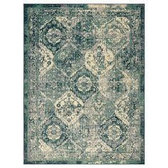 VONSBÄK rug, low pile - green - IKEA Germany IKEA – VONSBÄK, short pile carpet, green, the pattern looks faded and slightly washed out – so Lohals, Style Oriental, Oriental Rugs, Oriental Bedroom, Ikea Rug, Medium Rugs, Professional Carpet Cleaning, Underfloor Heating, Types Of Flooring