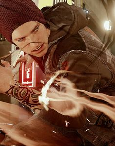 Infamous: Second Son - My new obsession. I love Delsin's personality and he's a breath of fresh air compared to Cole.