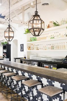 It may be a restaurant, but it has some great elements for summer design inspiration. (Tour Gracias Madre In West Hollywood, California | Decor8)