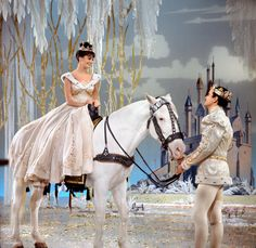 "Cinderella (Leslie Ann Warren)and her Prince (Stuart Damon) ride of happily ever after in Rogers and Hammerstein's ""Cinderella"" Directed by Charles S. Rodgers And Hammerstein's Cinderella, Cinderella Movie, My Childhood Memories, Sweet Memories, Classic Tv, Classic Movies, Old Tv Shows, The Good Old Days, Movies Showing"