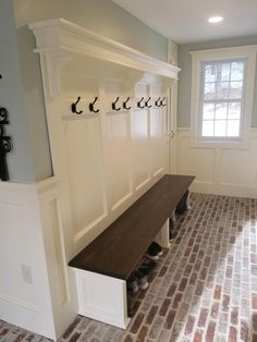 Mudroom Laundry Room, Laundry Room Design, Mudroom Cubbies, Mud Room Garage, Home Renovation, Home Remodeling, Small Mudroom Ideas, Mudroom Storage Ideas, Entryway Bench Storage