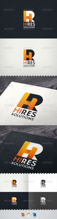 Hi-Res Solutions Render Farm Logo
