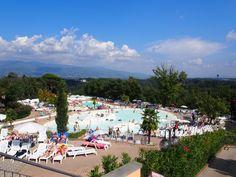 Camping Norcenni Girasole, Toscane - Bungalowtenten en stacaravans van alle aanbieders Boek je op CampingScanner.nl
