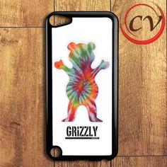 Grizzly Bear Tie Dye iPod 5 Case