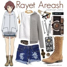 Rayet Areash [Aldnoah.Zero] by anggieputeri on Polyvore
