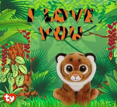 Tiggs the tiger is wild about you!