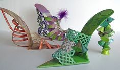 Paper Highheels - some with free templates