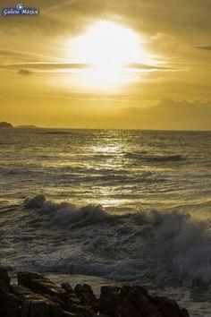 Atardecer en Cabo Estai, Vigo