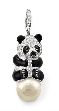 At the THOMAS SABO Online Shop you will find high quality Sterling silver jewelry, elegant watches and beauty products for her and him. Thomas Sabo, Elegant Watches, Black Enamel, Pearl Pendant, Panda Bear, Bridal Jewelry, Costume Jewelry, Sterling Silver Jewelry, Bears