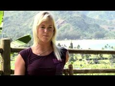Jumping over hurdles:   Professional women's surfer Bethany Hamilton talks about her passionate pursuit of surfing, the past and her future.
