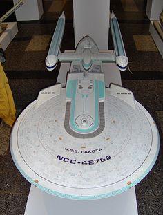 Star Trek Model Gallery | Star Trek Ship Model: Excelsior Class Model of USS Lakota | Flickr ...