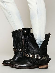 Free People 'Addison' military boots.
