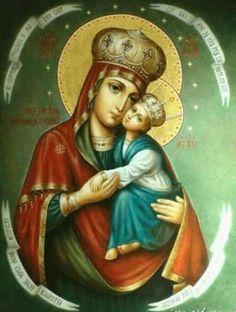 Maica Domnului cu pruncul.icon ortodox