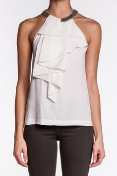 Folded Pleat Sleeveless Top.  http://www.isaay.com/Robert-Rodriguez-Folded-Pleat-Sleeveless-Top/ROD-103724,default,pd.html?dwvar_ROD-103724_color=IVR=180=winter_essentials=Price%20%28High%20to%20Low%29