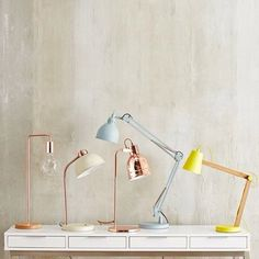 Add a pop of colour, pastel or copper to your home this season with our #freedomnzsummer14 table light collection #freedomnz #freedomfurniture #newseason