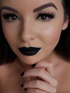 lime crime black velvet velvetine house of lashes noir fairy