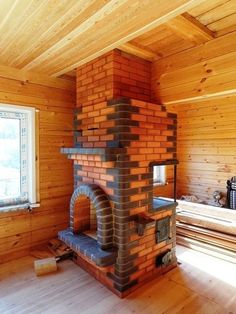 Дачный советник Garden Fountains For Sale, Wood Stove Cooking, Diy Outdoor Kitchen, Diy Kitchen, Wood Cladding, Brick Architecture, Fireplace Hearth, Brick Design, Up House
