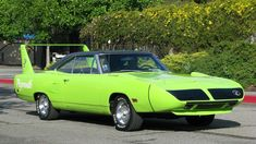 Favorite Muscle Car, Favorite Color: Plymouth Roadrunner