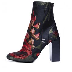 Jeffrey Campbell 'Stratford', black and red