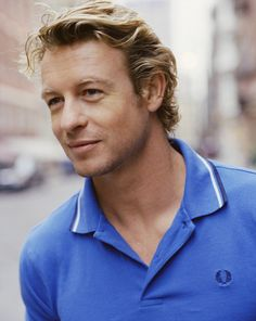 Simon Baker in blue ^-^