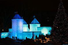 Carnaval ice castle, Quebec city Quebec Winter Carnival, Ice Castles, France, Quebec City, Places To Go, Canada, Explore, Photography, Travel