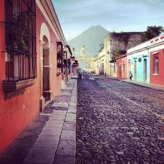 Antigua, Guatemala - this city is stunning