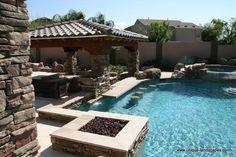 Swim-up Bars and Swimming Pools in Phoenix AZ - Photo Gallery