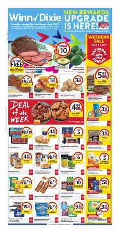 Winn Dixie Weekly Ad May 3 - 9, 2017 - http://www.olcatalog.com/grocery/winn-dixie-weekly-ad.html