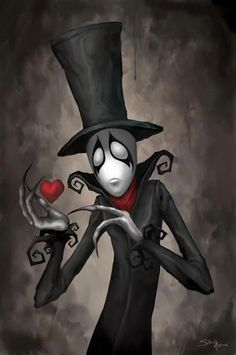 Valentines day-clown with heart...