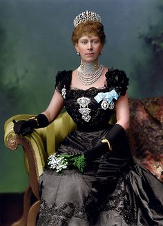 Queen Mary of United Kingdom, when Princess of Wales, 1901.