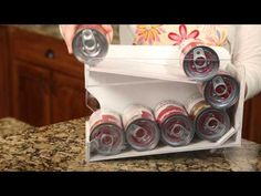 Pantry organization using can organizers by Pantry Maid to provide the best food storage rotation system Pantry Can Organization, Pantry Door Storage, Food Storage Shelves, Can Storage, Container Organization, Food Storage Containers, Storage Ideas, Canning Jar Storage, Diy Cans