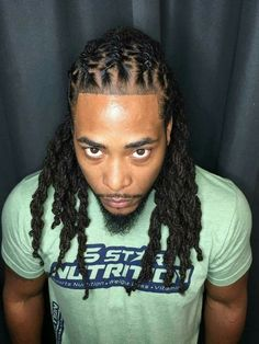 Gallery Of New Dreads with Taper In Back for Your Haircut Model and Trends. Mens Modern Hairstyles, Dreadlock Hairstyles For Men, Black Men Hairstyles, Haircuts For Men, Braided Hairstyles, Formal Hairstyles, Hairstyles Pictures, 1940s Hairstyles, Men's Haircuts