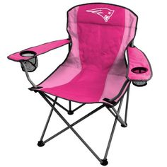 NFL New England Patriots Pink Chair ON SALE NOW