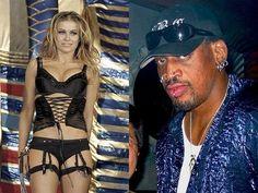 Love is Blind Celebrities (15 of 37): Dennis Rodman and Carmen Electra
