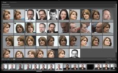 organize portraits and group shots using people view in LR CC